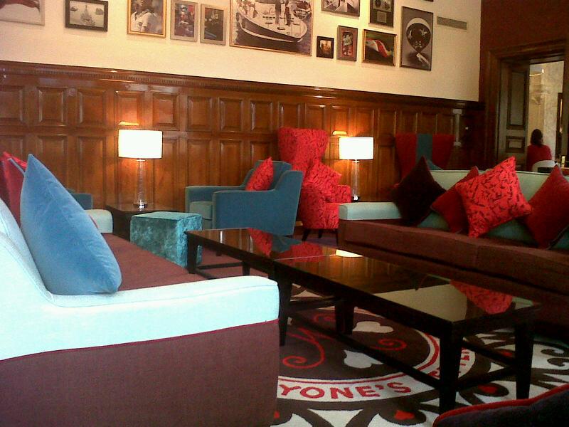 The Virgin Money Lounge Que Sera Sara