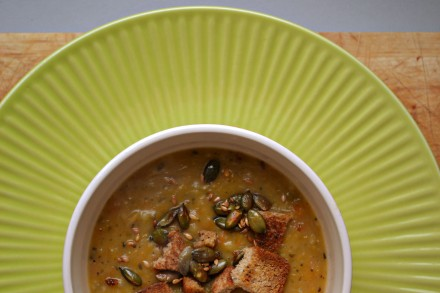 squash soup lower radial