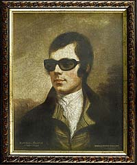 Burns in shades