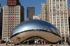 Kapoor bean Cloud Gate