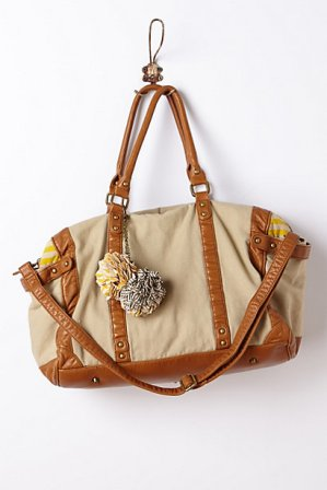anthropologie canvas weekender