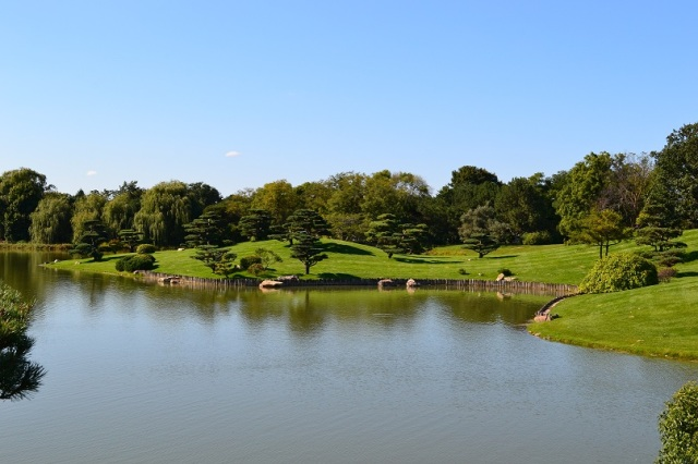 Que Sera Sara -- Chicago Botanical Garden Japanese Garden Horaijima